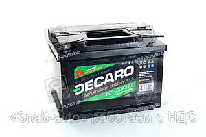Аккумулятор   60Ah-12v DECARO (242x175x175),R,EN600, AGHZX