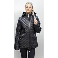 Куртка весенняя 40-68 размеры ПС-11 Черный ОСН6002