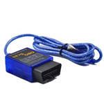 Адаптер диагностический OBD ELM327 USB typ B мини