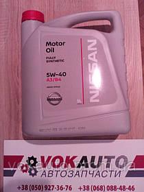 Моторное масло Nissan 5W-40, 5л