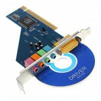 CMI8738 PCI встроенная звуковая карта для настольных компьютеров поддерживает Win7 / 8 / 10 CPW-14339