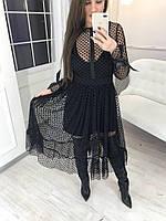 Роскошное платье midi элегантное и сексуальное