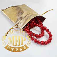 Подарочный мешочек для бижутерии, золото, 9х12 см