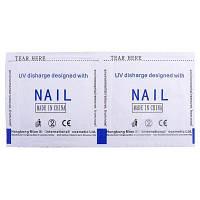 10шт Прочное очищающее средство для удаления лака для ногтей клининг 29686