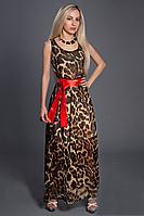 Шифоновое женское платье в пол оптом и в розницу