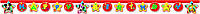 Паперовий банер Happy Birthday з колекції «Міккі Маус»