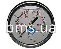 Манометр гліцериновий (бочка, робочий тиск; 0-16 бар)