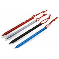 4шт ShineTrip ногти для палатки из алюминиевого сплава в треугольной форме Цветной