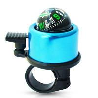 FEIRSH звонок для горного велосипеда с компасом Синий
