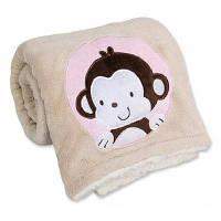 Теплый мягкий одеяло Светло-розовый