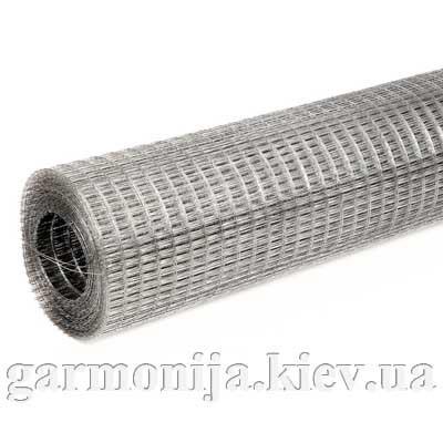 Сетка штукатурная сварная оцинкованая 0,9х12х25 мм, 1х30 м