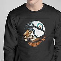 Свитшоты. тигр в шлеме