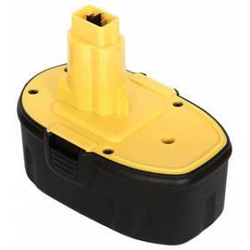 Аккумулятор FLOUREON для Dewalt DE9098 18V 2000mAh Ni-CD Black-Yellow