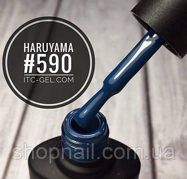 Гель-лак Haruyama №590 (сапфировый), 8 мл, фото 2