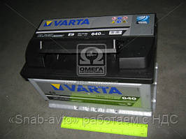 Аккумулятор 70Ah-12v VARTA BLD(E9) (278x175x175),R,EN640 570 144 064, AGHZX