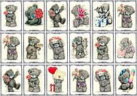 "Набор картинок ""Медвежёнок Тедди"""