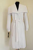 Пальто женское белое, фото 1