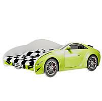 Детская кровать машина салатовая AUTO S-CAR 70 x 140 Baby Boo 100251