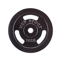 Диск металлический Hop-Sport 10кг