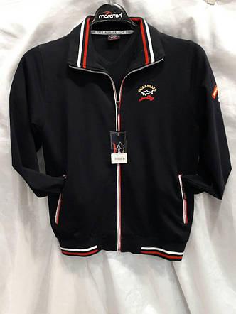Костюм мужской спортивный брендовый  черный с красным, фото 2
