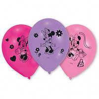 Латексні повітряні кульки з колекції «Мінні Маус» 25.4см., 10шт