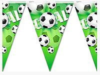 Паперові прапорці з футбольною тимитикою, 1,5см
