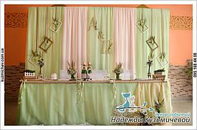 """Свежесть природы на Вашей свадьбе. Свадьба в стиле рустик, кафе """"Самарканд"""", г. Полтава. 2"""