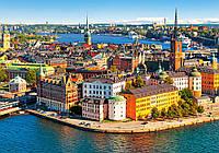 """Кастор пазлы 500 """" Стокгольм, Швеция"""" 47*33, В-52790"""