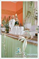 """Свежесть природы на Вашей свадьбе. Свадьба в стиле рустик, кафе """"Самарканд"""", г. Полтава. 6"""