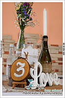 """Свежесть природы на Вашей свадьбе. Свадьба в стиле рустик, кафе """"Самарканд"""", г. Полтава. 7"""