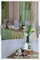 """Свежесть природы на Вашей свадьбе. Свадьба в стиле рустик, кафе """"Самарканд"""", г. Полтава. 8"""