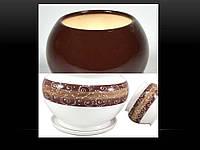Горшок Шар малый 1,1 л шоколад