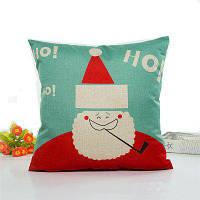 Прекрасный Санта-Клаус Лен Подушка Дело Домашнее украшение Подушки Чехлы Цветной