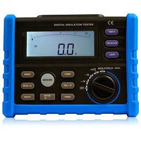 BSIDE AIM01 50-1000 В LCD Цифровой тестер сопротивления изоляции ЖК-экран - Синий