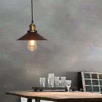 Everflower подвесная лампа для украшения чердака склада ресторана спальни и дома в старинном американском промышленном сельском и черном стиле E27