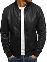 Модная кожаная курточка мужская