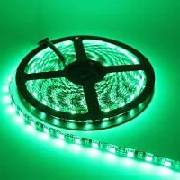 1шт YWXLight 5м 5050SMD 72W 300-светодиодов нет-водонепроницаемые светодиодные полосы гибкие светодиодные полосы DC 12V светлые полоски Зелёный