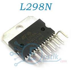 L298N, двойной полномостовой драйвер, multiwatt15