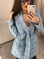 Платье-пиджак в стиле шанель на все случаи жизни