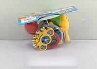 Муз.инструменты, барабан, маракасы, бубен, в пак. 20*21*7см (120шт/2)(828-7A)