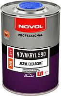 NOVOL NOVAKRYL 590 - БЕСЦВЕТНЫЙ АКРИЛОВЫЙ ЛАК 2+1