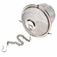 Многофункциональный фильтр чая и приправы для готовка Серебристый Белый