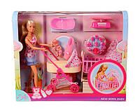 Кукла Steffi Штеффи с младенцем Simba 5730861 Оригинал