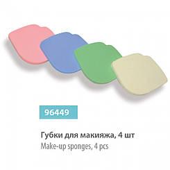 Набор - Губки для макияжа SPL, 96449, 4 шт.