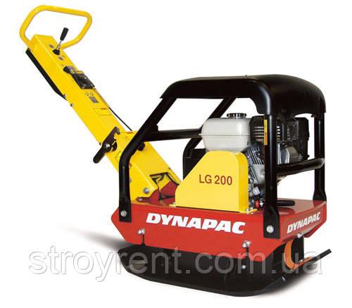 Виброплита реверсивная 220 кг Dynapaс LG 200- аренда, прокат