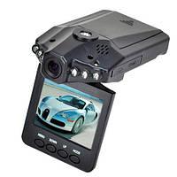 Автомобильный видеорегистратор DVR H-198 (HD, 720P, ночной режим)