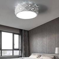Когда-нибудь-цветок современный простой светодиодный потолочный свет крепление с белым цветом краской ЕС AC220-240