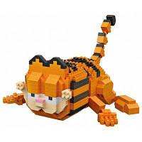 LOZ набор строительных блоков ABS в форме ползущего кота из мультфильма LA-61398