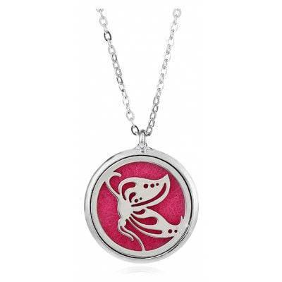Женщин Модный Розовый Ароматерапия Ожерелье - Розовый, фото 2