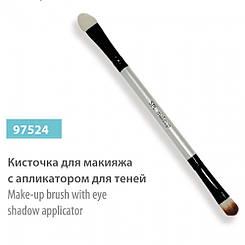 Пензлик для макіяжу SPL, 97524 двостороння з аплікатором